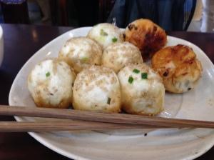 Sheng jian bao at Yabba Shengjian restaurant.